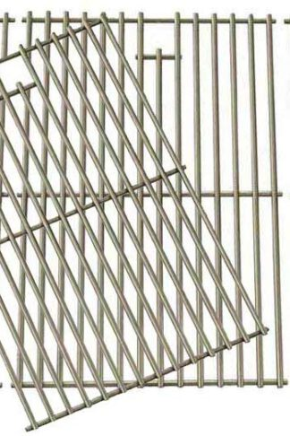 Replacement Cooking Grid for Brinkmann 810-1525-0, Lowes BG179A, BG179C & Master Forge Gas Models Set of 4