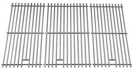 Stainless Steel Cooking Grid for Amana, Brinkmann, Kirkland 720-0021-LP Ducane 30400042, 30400043 & Jenn-Air 720-0512, 720-0727, 730-0337 Gas Models, Set of 3