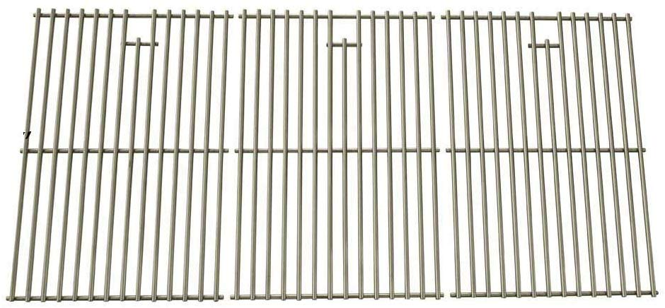 Stainless Steel Cooking Grid for Nexgrill 720-0677, 720-0108, 720-0193, 720-0337, 720-0396, 720-0432, 720-0512, 720-0522CAN & Jenn-Air 720-0337, 720-0512 Gas Grill Models, Set of 3