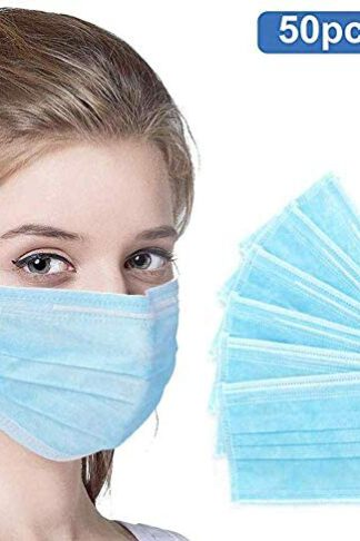 50PC Face Disposable Cover for Personal Health Protective Safety by CIZZ