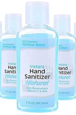 5PCS Speed Dry Hand Sanitizer, 2 FLOZ Disposable Hand Sanitizer Gel, Liquid Hand Soap Hand Wash Gel Advanced Hand Sanitizer Travel Portable Mini Hand Sanitizer Gel (5PCS) by YIWULA