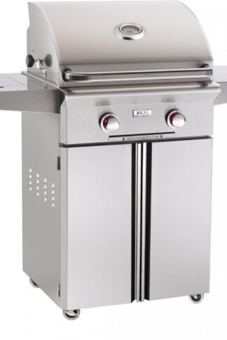 AOG American Outdoor Grill 24NCT-00SP T-Series 24 inch Natural Gas Grill On Cart