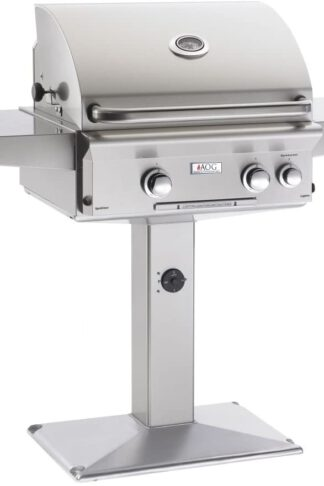 AOG American Outdoor Grill 24NPL-00SP L-Series 24 inch Natural Gas Grill On Pedestal