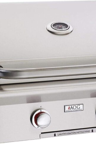 AOG American Outdoor Grill 24PBT T-Series 24 inch Built-in Propane Gas Grill Rotisserie