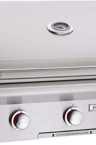 AOG American Outdoor Grill 30NBT T-Series 30 inch Built-in Natural Gas Grill with Rotisserie Kit