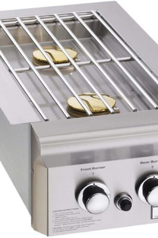 AOG American Outdoor Grill 3282PT T-Series Built-in Double Side Burner, Propane