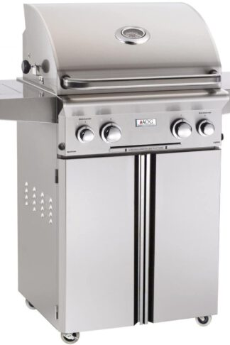 AOG American Outdoor Grill L-Series 24-Inch 2-Burner Propane Gas Grill - 24PCL-00SP