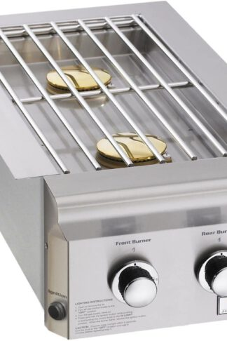 AOG American Outdoor Grill L-Series Drop-in Propane Gas Double Side Burner - 3282PL