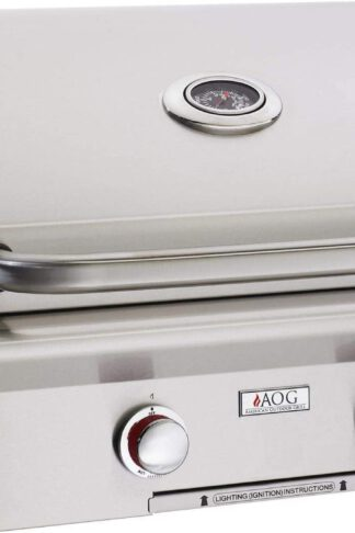 AOG American Outdoor Grill T-Series 24-Inch 2-Burner Built-in Propane Gas Grill - 24PBT-00SP