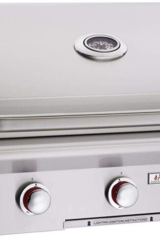 AOG American Outdoor Grill T-Series 30-Inch 3-Burner Built-in Natural Gas Grill with Rotisserie - 30NBT