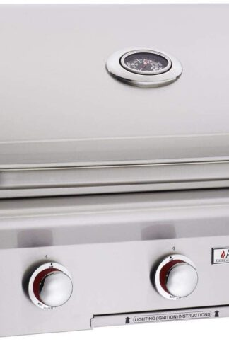 AOG American Outdoor Grill T-Series 30-Inch 3-Burner Built-in Propane Gas Grill - 30PBT-00SP