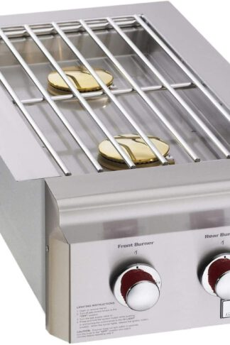 AOG American Outdoor Grill T-Series Drop-in Natural Gas Double Side Burner - 3282T