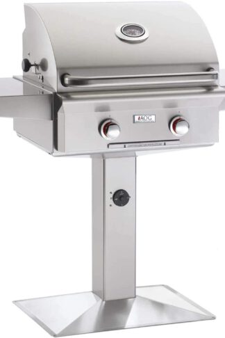 American Outdoor Grill T-series 24-inch Natural Gas Grill On Pedestal