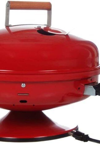 Americana Lock 'N Go Electric Grill, Red