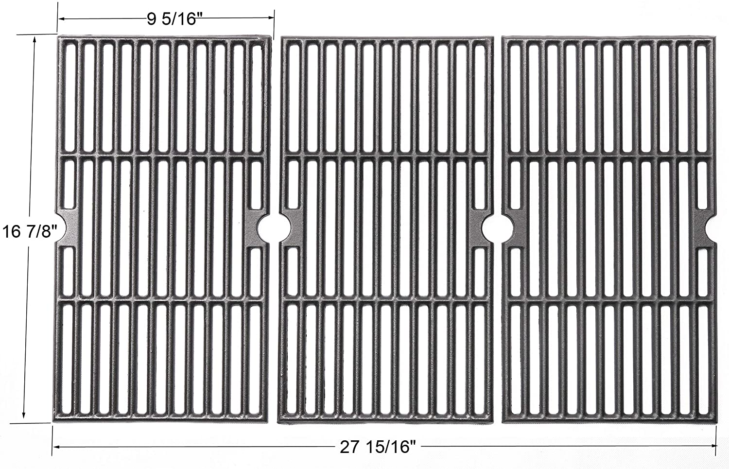 Gi8763 Porcelain Coated Cast Iron Cooking Grid Replacement