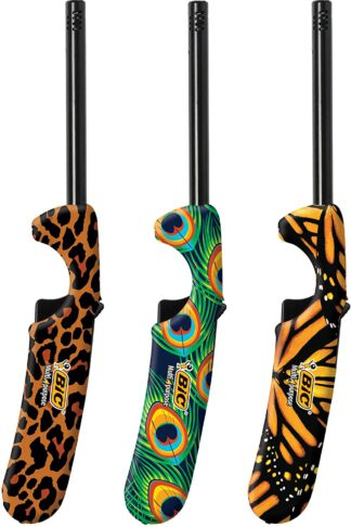 BIC Multi-Purpose Fashion Edition Lighter, Animal Print, 3-Pack