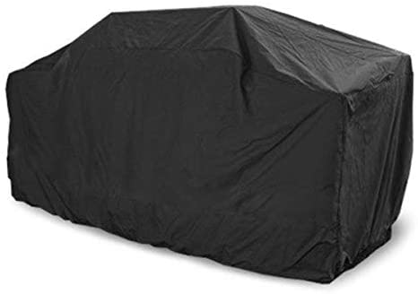 "Barbecue Grill Cover Gas BBQ Cover Waterproof Patio UV & Fade Resistant Heavy Duty for Most Grill Brands Weber Char-Broil Nexgrill Holland Brinkmann Jenn Air and Kenmore 75"" XX-L Outdoor (XXL, Black)"