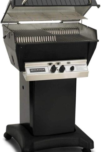 Broilmaster P3-XF Premium Propane Gas Grill On Black Cart