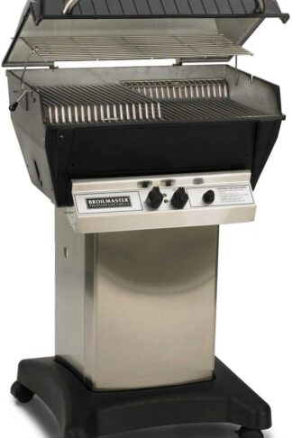 Broilmaster P3-XF Premium Propane Gas Grill On Stainless Steel Cart
