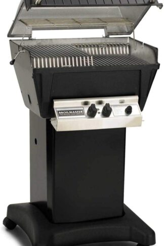 Broilmaster P4-XF Premium Propane Gas Grill On Black Cart