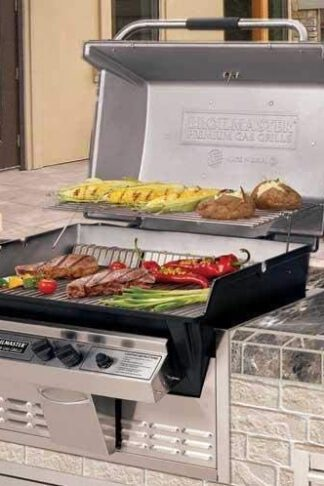 Broilmaster R3BN Infrared Combination Natural Gas Grill Built in