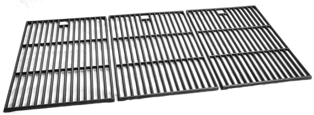 Cast Grates for Brinkmann 810-2720-0, 810-2720-1, Pro Series 4615, 810-4615-0, Pro Series 4655, 810-4655-0 Gas Grill Models, Set of 3