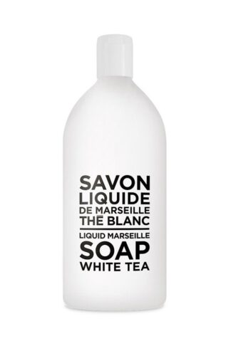 Compagnie de Provence Savon de Marseille Extra Pure Liquid Soap - White Tea - 33.8 fl oz Plastic Bottle Refill
