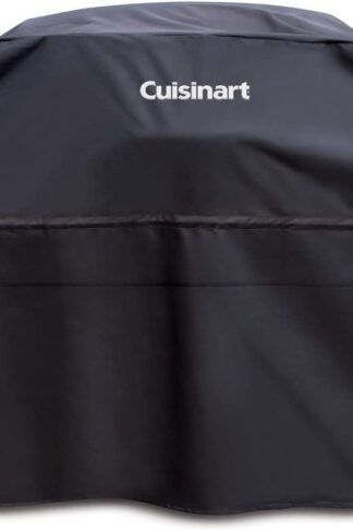 "Cuisinart CGC-65B Heavy-Duty Barbecue Grill Cover, 65"", Black"