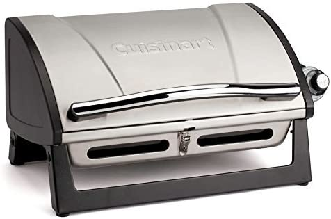Cuisinart CGG-059 Grillster 8,000 BTU Portable Gas Grill (Renewed)