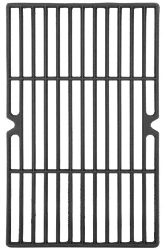 DcYourHome Cast Iron Cooking Grid Grate Replacement Parts for Uniflame GBC1059WE-C, GBC1059WB-C, 16 1/4'' BBQ Grill Grates Repair Part for Backyard Grill BY13-101-001-13 Gas Grill Model, 3 Pcs