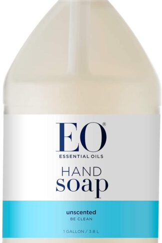 EO Hand Soap Unscented, 128 Ounce Refill
