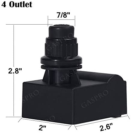 GASPRO Durable Grill Igniter 4 Outlet Replacement for Kenmore, Charbroil, Brinkmann, Nexgrill, Ducane Grills, Easy to Install