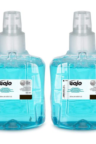 GOJO Pomeberry Foam Handwash, Pomegranate Scent, 1200 mL Hand Soap Refill for GOJO LTX-12 Dispenser (Pack of 2) - 1916-02