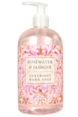 Greenwich Bay Trading Co. Luxurious Hand Soap, 16 Ounce, Rosewater & Jasmine