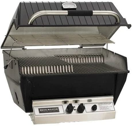 Infrared-Blue Flame Gas Grill with Stainless Steel Rod Grids
