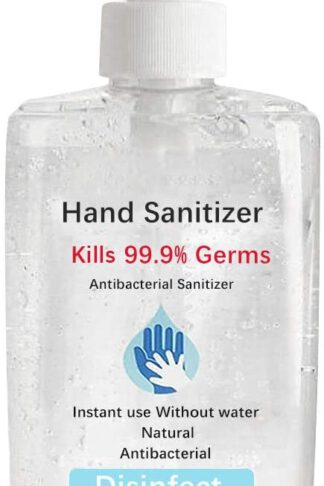 JCarry 300ml No-wash Hand Soap Gel Portable Alcohol-Free Disinfection Hand Sanitizer Soothing Gel Soft Quick-Drying Long-Lasting Hand Soap Gel (White)