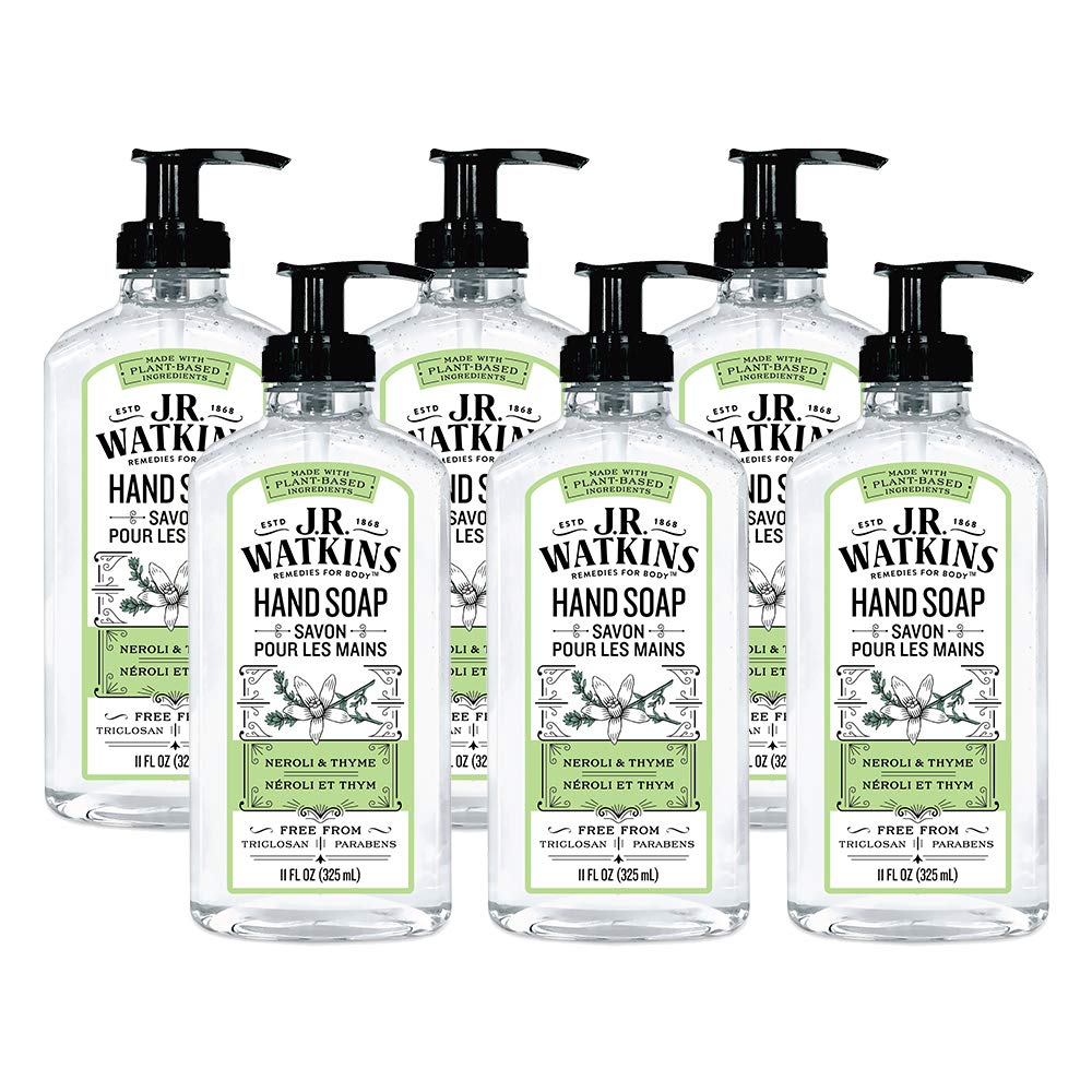 Jr Watkins Gel Hand Soap Neroli And Thyme 6 Pack