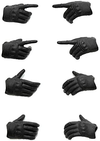 LittleArmory-OP03:figma Tactical Gloves 1/12 Scale ATBC-PV by TomyTEC