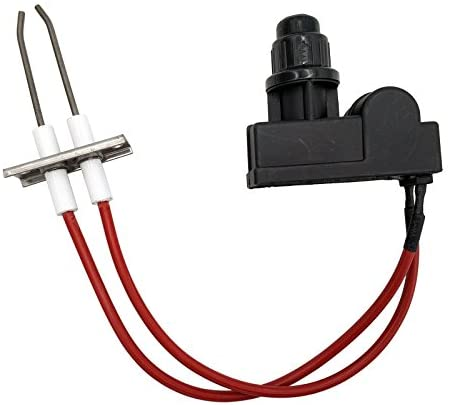 MENSI Double Ignition kit Electronic igniter with high Spark Plug Wire Length 450mm Each for Catering euqipment Stove