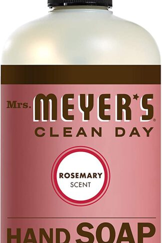 Mrs. Meyer's Liquid Hand Soap, Rosemary, 12.5 Fl Oz (Pack of 1)
