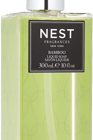 NEST Fragrances Scented Liquid Hand Soap- Bamboo, 10 fl oz