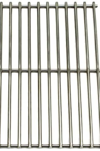Outdoor Bazaar Set of 3 Solid Stainless Steel Cooking Grids and 4 Stainless Steel Heat Plates for BBQ Grill Models from Backyard Grill, BHG, Uniflame, Revoace, Dynaglo and Other Manufactureres