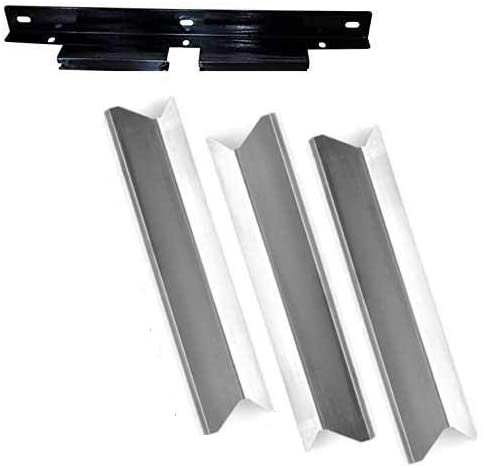 Perfect Flame SLG2007A, SLG2008A, 61701 Gas Grill Repair Kit Includes 3 Stainless Heat Shields and 1 Burner Support Bracket