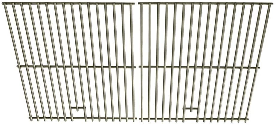 Stainless Steel Cooking Grid for Master Forge, 463262211, 463268008, 463268606, 463268706, 463270909, 466244011 Gas Grill Models (Set of 2)