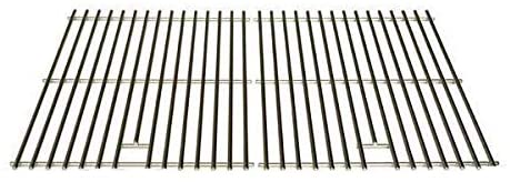 Stainless Steel Cooking Grid for Master Forge GGP-2501, Kenmore 16657, 415.16657900, 415.16657900G & Uniflame GBC750W-C, GBC750W, GBC750WNG-C Gas Grill Models, Set of 2