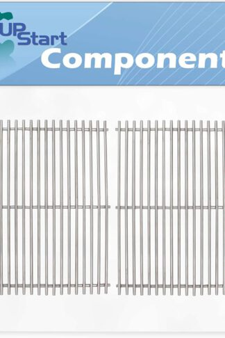 UpStart Components 2-Pack BBQ Grill Cooking Grates Replacement Parts for Kenmore 720-0549 - Compatible Barbeque Stainless Steel Grid 17""