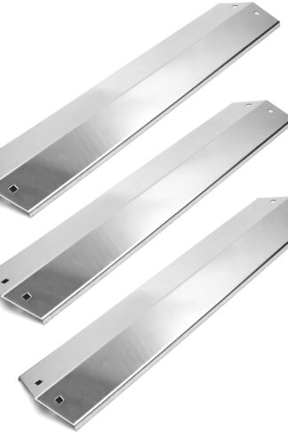 "VICOOL Stainless Steel Flavorizer Bar, 18 15/16"" x 3 7/8"" Heat Plate Replacement for Chargriller 3001, 3008, 3030, 4000, 5050, 5252, 5650, King Griller 3008, 5252, hyJ505A (3-Pack)"