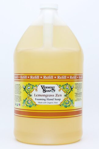 Vermont Soap Organics - Lemongrass Foaming Hand Soap Gallon Refill
