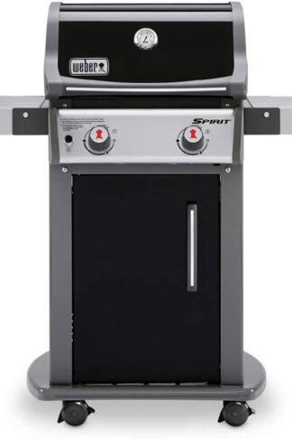 Weber 46110001 Spirit E-210 LP Gas Grill, Black, 2 Burner