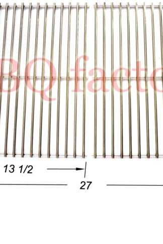 bbq factory stainless steel Rod Cooking Grid/Cooking Grates JCX812 Replacement for Brinkmann, Grill Master, Nexgrill and Uniflame Gas Grills